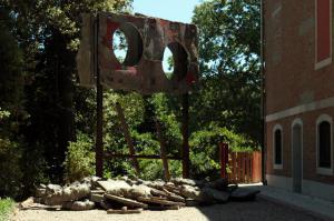 Phyllida Barlow / Folly57.Esposizione dell'Arte della Biennale di Venezia nel Padiglione Britannico Paola Ricci©Photo