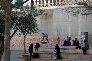 MACBA  skateboarding